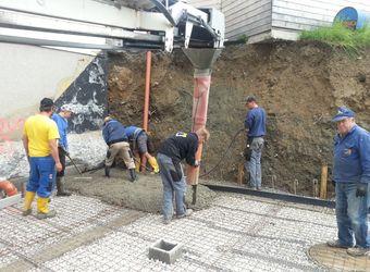 Umbau Feuerwehrhaus Teil I - Rohbau