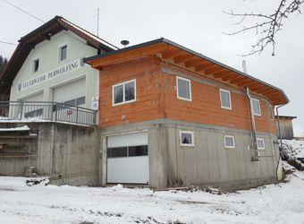 Umbau Feuerwehrhaus Teil III - Innenarbeiten